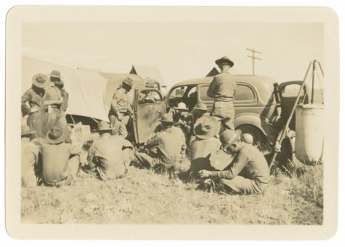Soldiers at Fort Riley, Kansas - Page
