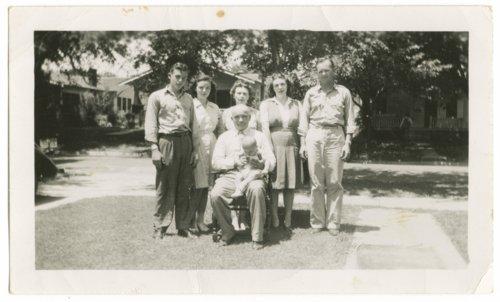 Fred Athon, Helen Athon, Ardis Athon, Adetha Athon Wilson, Bruce Athon, and Bill Wilson - Page