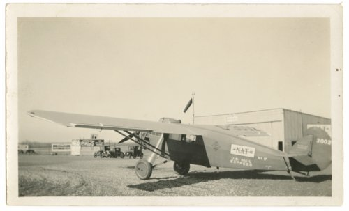 United States Mail Express airplane photograph - Page