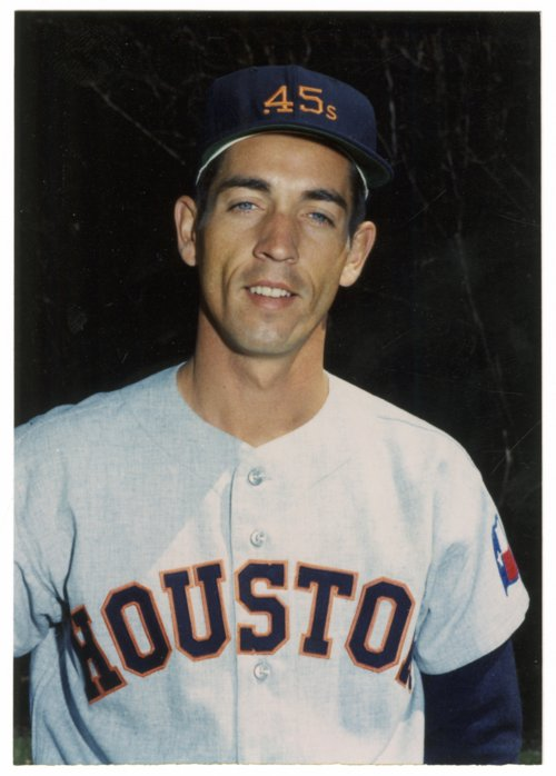 Jim Golden in Colt .45s uniform - Page