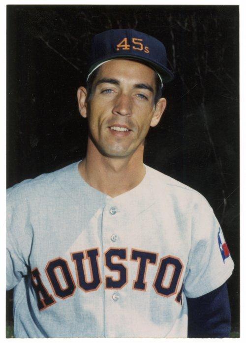 Jim Golden in Colt .45s uniform - Page