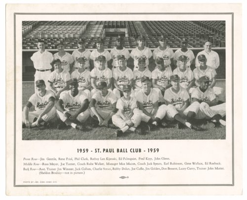 Baseball team in St. Paul, Minnesota - Page
