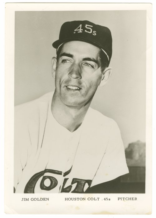 Jim Golden of the Houston Colt .45s - Page