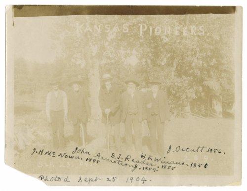 Kansas pioneers, Shawnee County, Kansas - Page