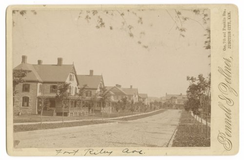 Fort Riley Avenue card - Page
