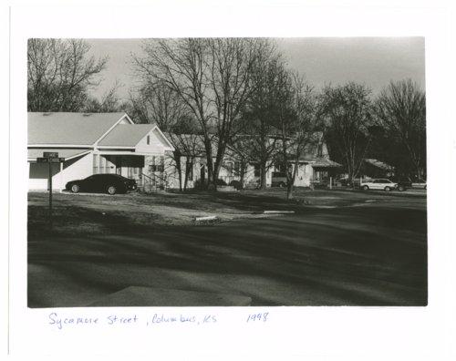 Sycamore Street, Columbus, Kansas - Page
