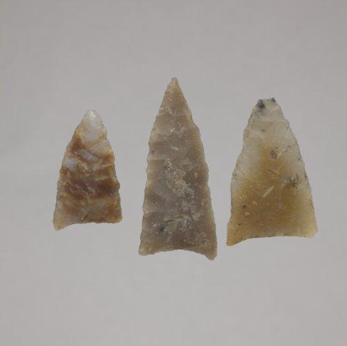 Triangular Arrow Points from El Cuartelejo, 14SC1 - Page