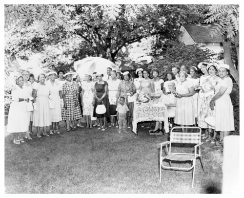 Afro-American Club Women group and individual portraits - Page