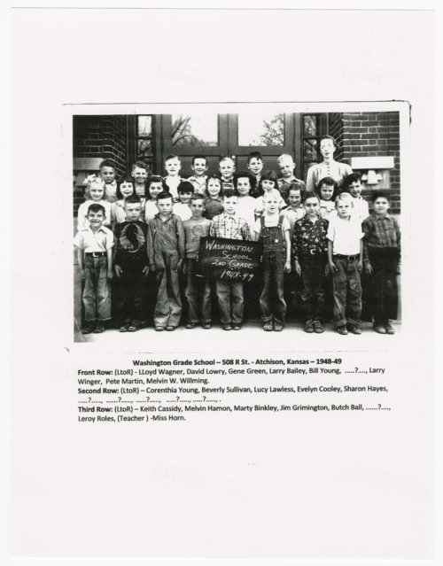 Washington Grade School, Atchison, Kansas - Page