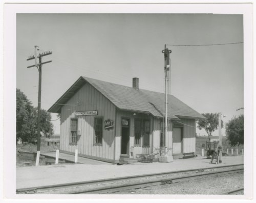 Missouri-Kansas-Texas Railroad depot, Parker, Kansas - Page