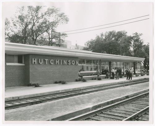 Atchison, Topeka and Santa Fe Railway Company depot, Hutchinson, Kansas - Page