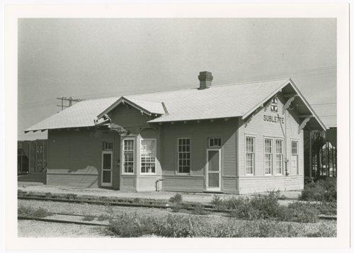 Atchison, Topeka & Santa Fe Railway Company depot, Sublette, Kansas - Page