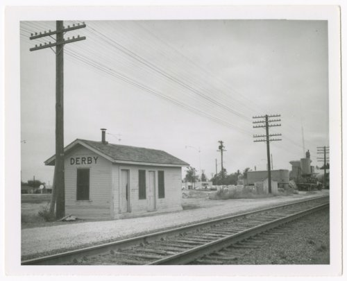 Atchison, Topeka and Santa Fe Railway Company depot, Derby, Kansas - Page
