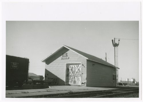 Chicago, Rock Island & Pacific Railroad depot, Meade, Kansas - Page