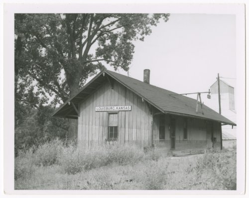 Missouri-Kansas-Texas Railroad depot, Louisburg, Kansas - Page