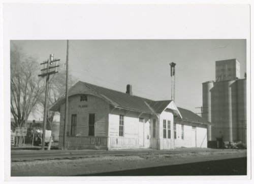 Chicago, Rock Island & Pacific Railraod depot, Plains, Kansas - Page