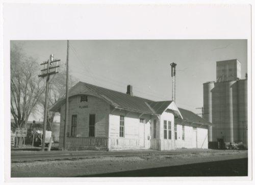 Chicago, Rock Island and Pacific Railraod depot, Plains, Kansas - Page