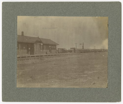 Chicago, Rock Island & Pacific Railroad depot, Plains, Kansas - Page