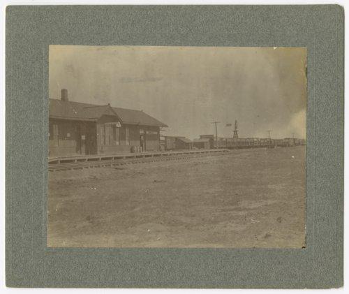 Chicago, Rock Island & Pacific Railroad depot, Plains, Kansas - Page