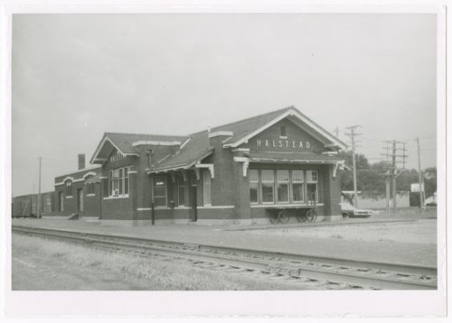 Atchison, Topeka & Santa Fe Railway Company depot, Halstead, Kansas - Page