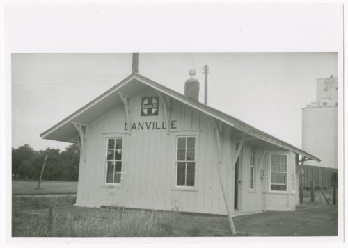 Atchison, Topeka & Santa Fe Railway Company depot, Danville, Kansas - Page