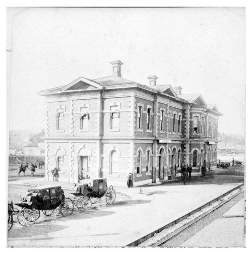 Atchison, Topeka and Santa Railway Company depot, Lawrence, Kansas - Page