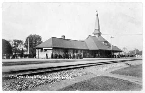Union Pacific Railroad Company depot, Lawrence, Kansas - Page