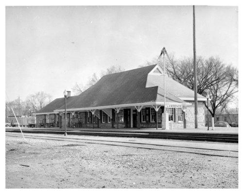 Union Pacific Railroad Company depot, Lawrence, Kansas - Page