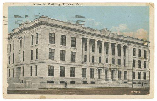 Memorial Building postcard - Page