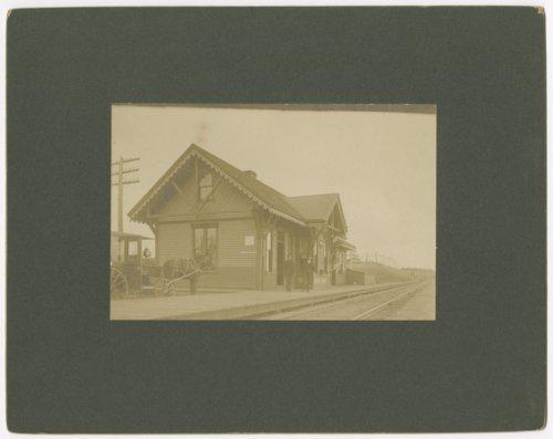 Railroad depot, Belle Plaine, Kansas - Page