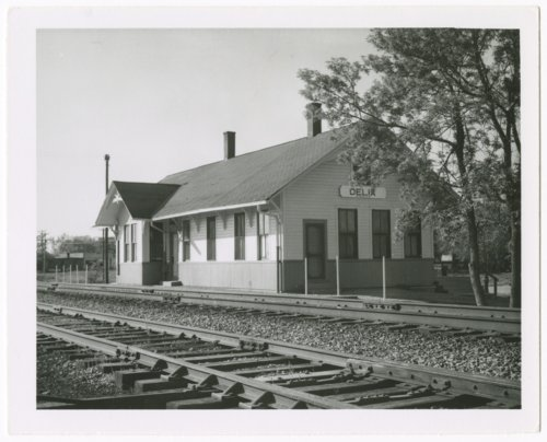 Union Pacific Railroad Company depot, Delia, Kansas - Page