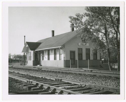 Union Pacific Railroad Company depot, Delia, Kansas - Page