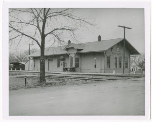 Atchison, Topeka and Santa Fe Railway Company depot, Nortonville, Kansas - Page