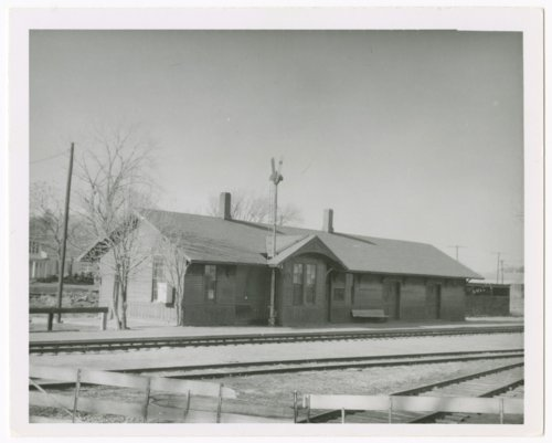 Chicago, Rock Island & Pacific Railroad depot, Holton, Kansas - Page