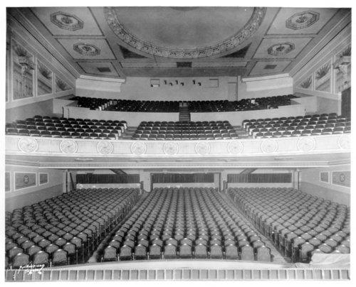 Jayhawk Theater auditorium photograph - Page