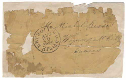 John W. Greyeyes to Anna Boucher Bassett - Page