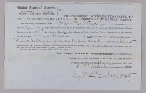 United States versus Amar Bertrand for selling liquor to Indians - Page