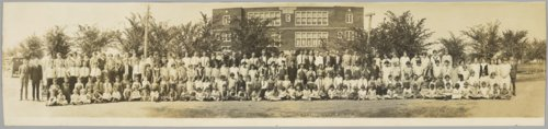 Garfield public school panoramic - Page