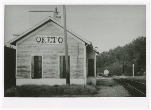 Union Pacific Railroad Company depot, Oketo, Kansas - Page