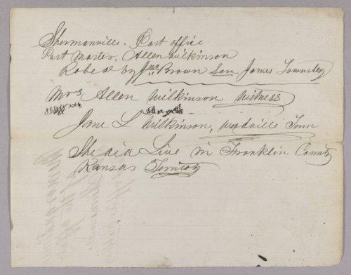 Kansas Territory versus John Brown Sr., Frederick Brown, Oliver Brown, Owen Brown, and Solomon Brown for murder - Page