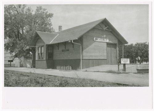 Union Pacific Railroad Company depot, Beverly, Kansas - Page