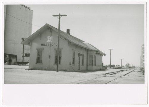 Atchison, Topeka & Santa Fe Railway Company depot, Hillsboro, Kansas - Page