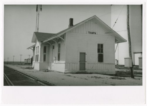 Chicago, Rock Island & Pacific Railroad depot, Tampa, Kansas - Page