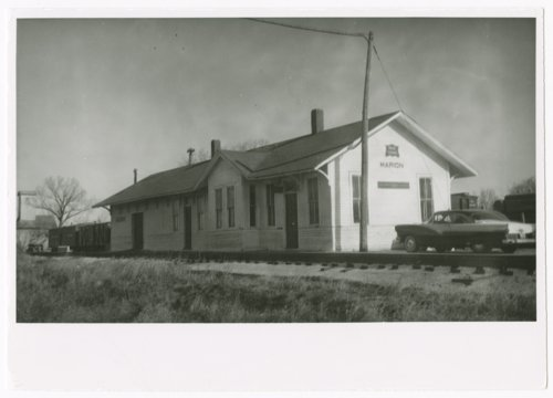 Chicago, Rock Island & Pacific Railroad depot, Marion, Kansas - Page