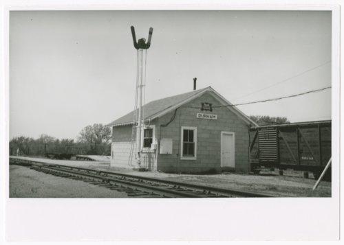 Chicago, Rock Island & Pacific Railroad depot, Durham, Kansas - Page