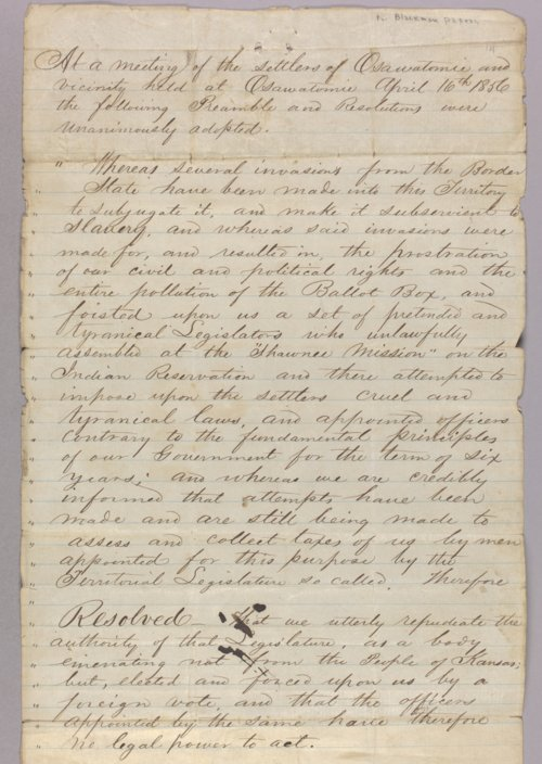 United States versus John Brown for subverting the government (treason) - Page
