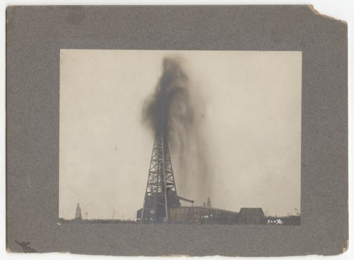 Shooting an oil well in Independence, Kansas - Page
