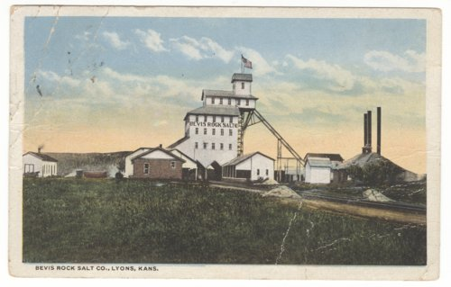 Bevis Rock Salt Company in Lyons, Kansas - Page