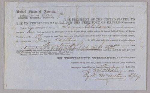 United States versus Louis Cliboux for contempt - Page