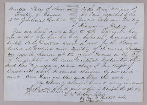 United States versus Lafayette Conner for contempt - Page